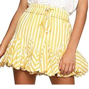 Dresses & Skirts - Fun striped skirt